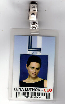 Supergirl ID Badge -Lena Luthor CEO costume prop cosplay