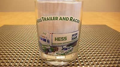 Hess Gas  Trailer And Racer Glass