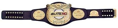 Elite XC and WEC 2 championship belt  with leather strapadult size replica belt