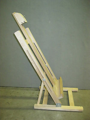 Artist Table Easel Wet canvas Carrier easel with adjustable angles
