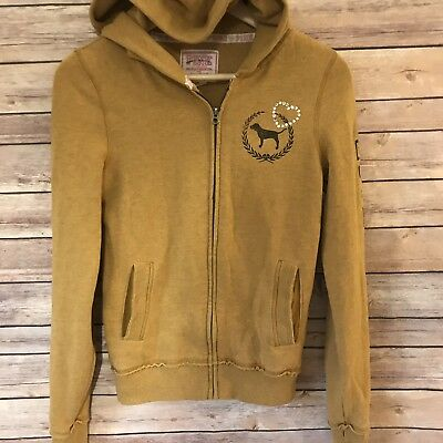 8ff9836b36 Victoria Secret Pink UCF Knights Collegiate Collection Hoodie Zip Up  Sweater XS