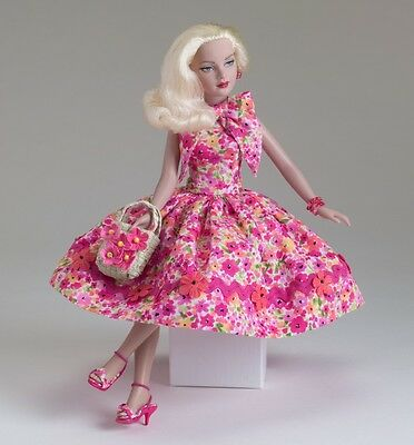 MOD PINK FLOWERS *Tiny Kitty OUTFIT by Tonner 2005 w/shipper -NRFB pristine