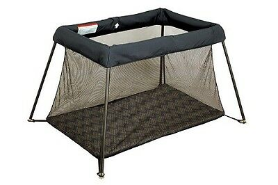 bebecare portable baby travel cot black folding portacot. Black Bedroom Furniture Sets. Home Design Ideas