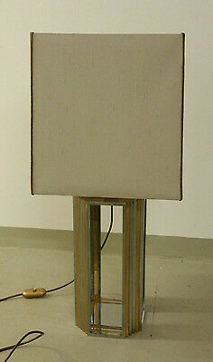 Tischlampe table lamp Chrom/Messing - Romeo Rega