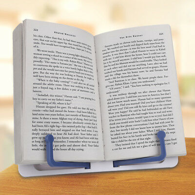 Portable Folding Sheet Music Stand Holder Adjustable Table Top Cook Book Stand