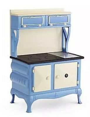 NIB American Girl Retired Hard To Find Kit's Blue CookStove