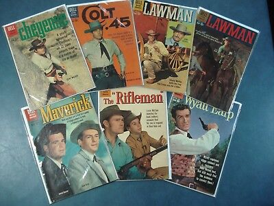 Dell TV Western lot, photo covers, 70% off!