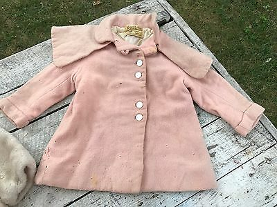 6 Antique Girls Clothes Lot Repair Winter Coats Pants Hats Mixed Lot Best 1950s