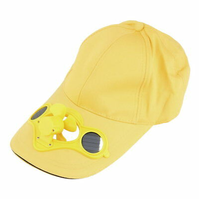 Summer Sport Outdoor Hat Cap With Solar Sun Power Cool Fan For Cycling V