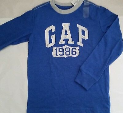 GAP KIDS Licensed Boy long sleeve top tee t shirt NEW size S (6-7)