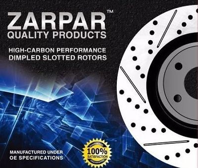 Brake Dimpled Slotted Falcon Rotors Ford Rear Disc BF FG BA XR6 303mm Pair