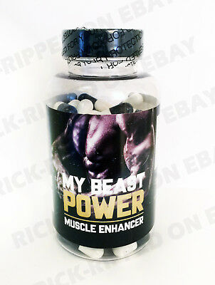My Beast Power Nitro Xtreme Muscle BCAA Pre Workout NO Nitric Creatine L-valine