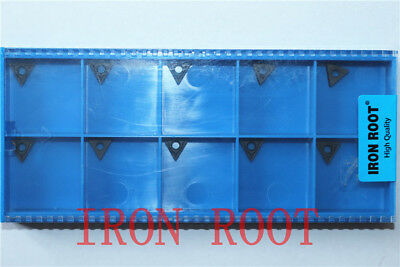 High quality IRON ROOT 10P TCMT090204-MF 7225 CNC Carbide For Hard steel