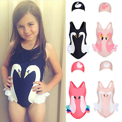 Toddlers Kids Girls One Piece Bikini Swimwear Swimsuit Bathing Suit Beachwear