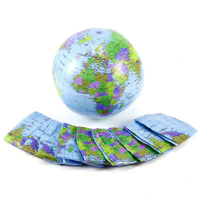 Inflatable Inflate Earth Globe Tellurion World Map Ball Geography GITOY 5/10pcs