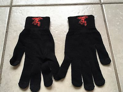 Fireball Cinnamon Whisky Black Gloves. Brand New.