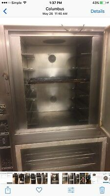 NuVu op-2fm convection bake oven and proofer in excellent condition
