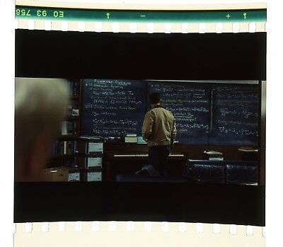 Interstellar 70mm IMAX Film Cell - Coop at the Chalkboard (1757)