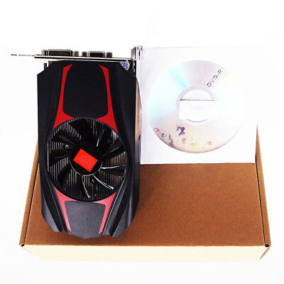 ATI Radeon HD 7670 4GB DDR5 128Bit PCI-Express Video Graphics Card Fashion RED
