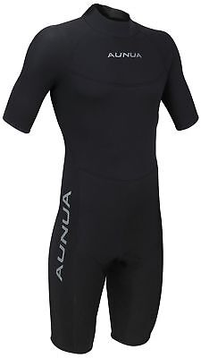 Mens 3mm Black Shorty Wetsuit Surfing Diving Scuba Neoprene Wetsuit