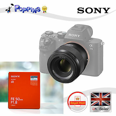 Sony sel50f18f FE 50mm F/1.8 Objetivo sel50f18f 35mm e- Montaje Completo Marcos