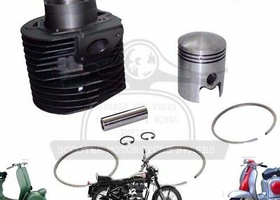 New Lambretta Gp200 Scooters Cylinder Barrel With Piston Kit @de