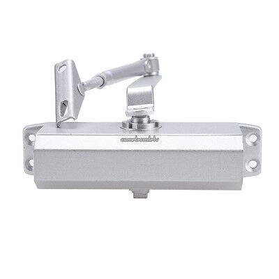 Aluminum Commercial Door Closer Two Independent Valves Control Sweep 45-65KG USA