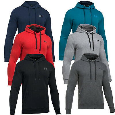 Under Armour Hoodie Fitted Rival Kapuzenpulli Hoody Funktion Pulli Laufen Joggen