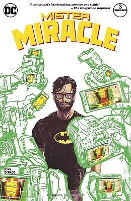 Mister Miracle #3 Gerards Variant Dc Comics Near Mint 10/11/17