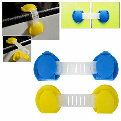 5/10pcs Child Kid Baby Safety Lock Protecter Door Fridge Drawer Cupboard Catch