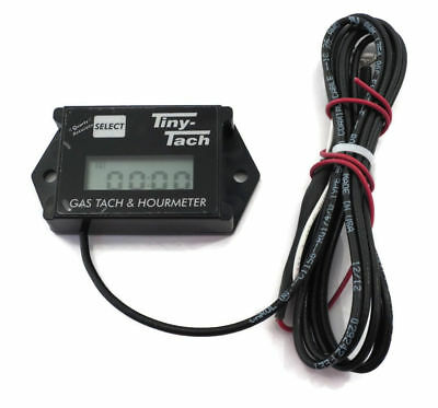 Tiny Tach TT2A Digital Hour Meter  Tachometer - Adjustable Resettable Job Timer