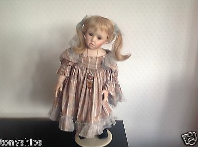 SABRINA --Collector's  Modern Reproduction Artist Porcelain Doll