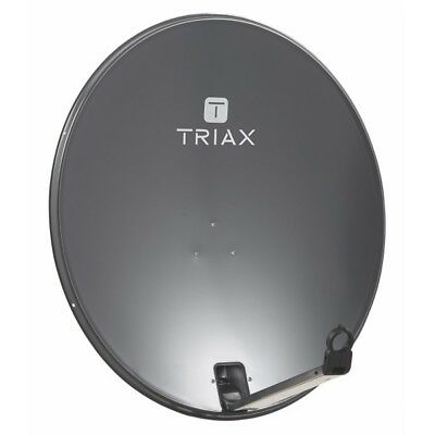 TRIAX TDS78 Parabole Satellite acier Anthracite 78 cm