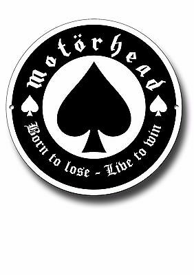 Motorhead Metal Sign, Music, Rock, Lemmy, Iconic, Wall Decor
