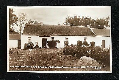 RP Postcard Dan Winter's House, The Diamond Portadown 1st Orange Lodge  - PCBOX1