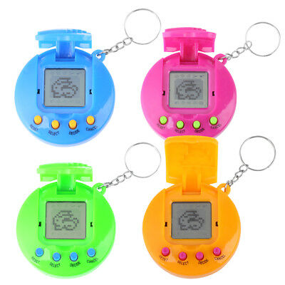 4Colors Tamagochi Electronic Digital Pets Game Pet in One Virtual Cyber Pet Toy