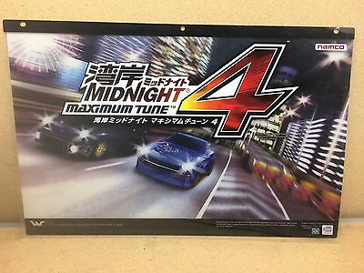 Wangan Midnight Maximum Tune 4 Arcade Header