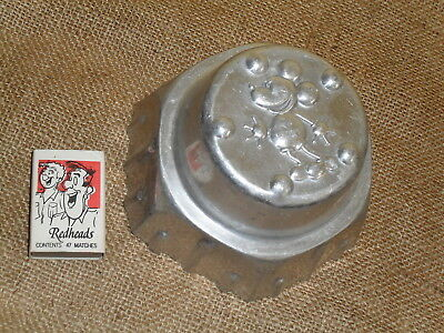 Vintage Mickey Mouse Aluminium Jelly Mould