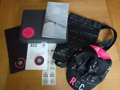 Rapha RCC 2017 Members Pack - Musette | Cap | Limited Edition Roundel | Stickers