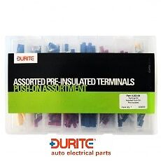 Durite 0-203-04, Assorted Box Of Pre-insulated Push-on Terminals