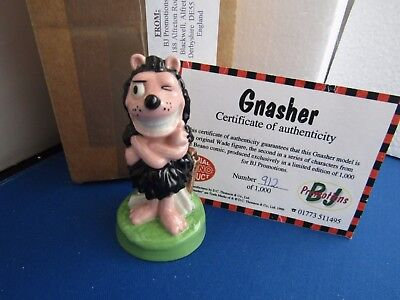 Gnasher  Beano Dc Thomson   Limited Edition Wade