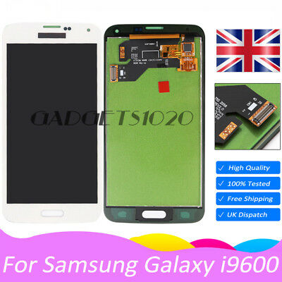 For Samsung Galaxy S5 G900F i9600 Touch Screen Digitizer + LCD Display White