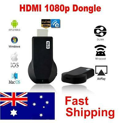 Miracast DLNA Airplay WiFi HDMI Dongle TV Receiver For iPhone iPad Win7/8 KK~~