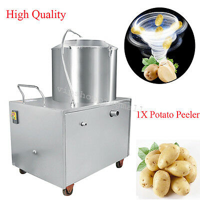 Compact Potato Peeler Automatic Sweet Potato Peeling&Cleaning Machine 1500W Nice
