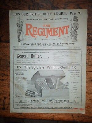 The Regiment , Military Journal May 12 Th 1900 Boer War Interest
