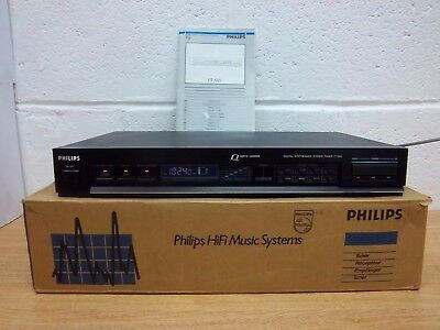 Philips AM FM Stereo Tuner FT565 radio HIFI separate boxed