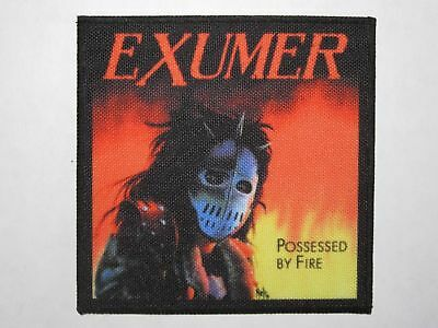 EXUMER Possessed By Fire printed NEW patch thrash metal