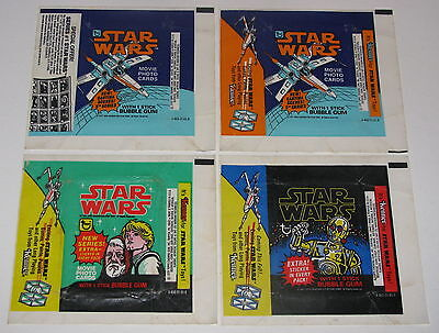 1977 Topps Star Wars Wrapper Lot Of 7 - Flat Shipping Rate