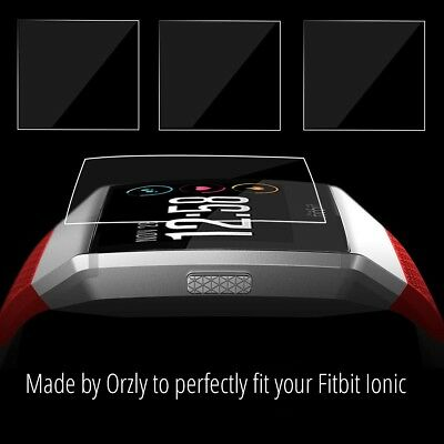 Orzly 5 in 1 Screen Protectors for Fitbit Ionic
