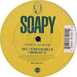 Soapy - Horny As Funk - WEA - 1996 #10112